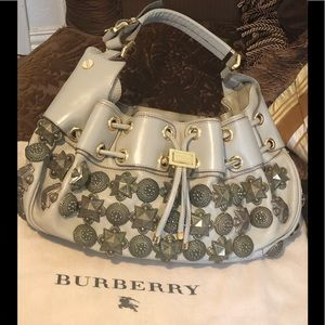 Burberry Bags - BURBERRY Prorsum Mason Warrior Studded Hobo Bag 36dc8430019fd